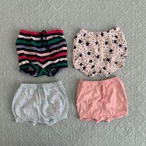 Gap Toddler shorts. 3 size 18-24mo, 1 size 2T.